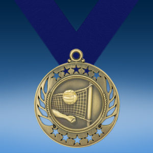 Volleyball Galaxy Medal-0