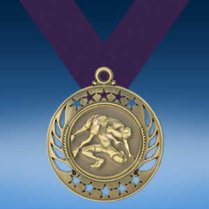 Wrestling Galaxy Medal-0