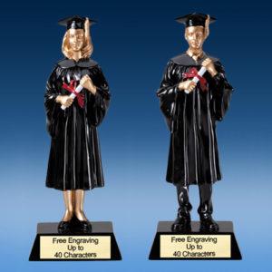 Graduation Figure Resin