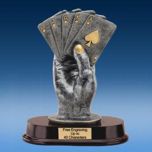 Poker Hand Resin