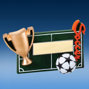 Soccer Winners Cup Resin