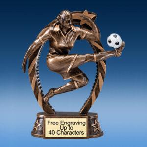 """Soccer Female Running Star 7.5"""""""