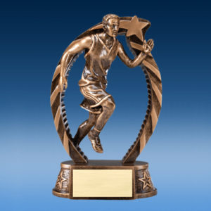 Track Male Running Star 7.5""