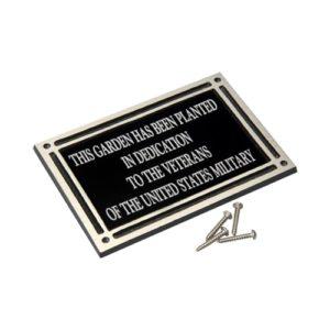 Cast Aluminum Plaque