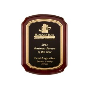 Rounded Legacy Plaque