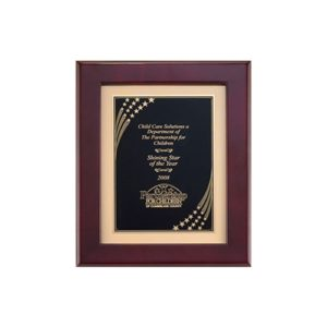 Star Shower Matted Plaque
