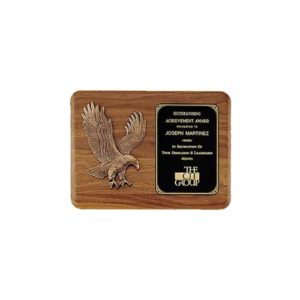 Sculpted Eagle Relief Plaque