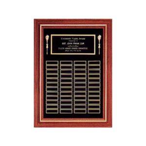 Black Velour Perpetual Plaque