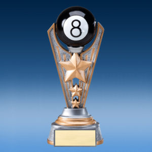 8-Ball Resin Victory Award