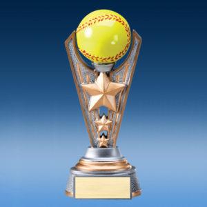 Softball Resin Victory Award