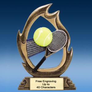 Tennis Flame Resin