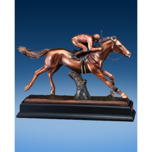Large Jockey Resin