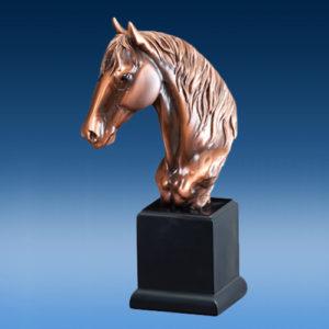 Bronze Horse Head