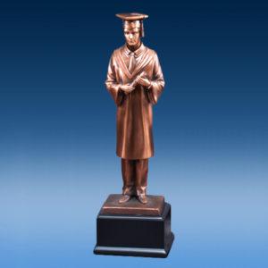 Male Graduate Resin