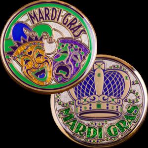 Mardi Gras Coin-0