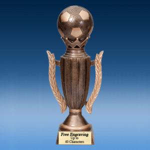Soccer Crown Resin Award