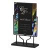 Blue Acrylic Art Plaque Stand