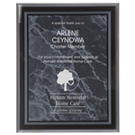 Black Marble Inspiring Acrylic Plaque