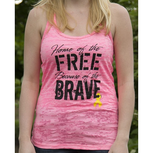 Because of the Brave Tanktop