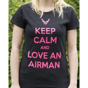 Keep Calm Air Force T-Shirt