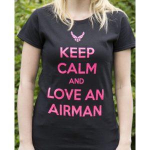 Keep Calm Air Force T-Shirt
