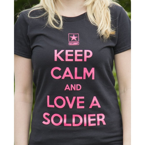 Keep Calm Army T-Shirt