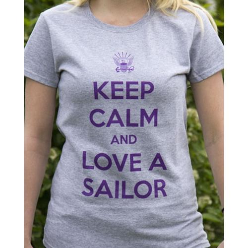 Keep Calm Navy T-Shirt
