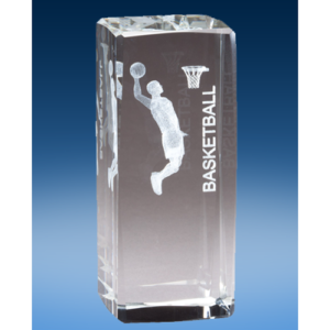 Basketball Male Crystal League Award