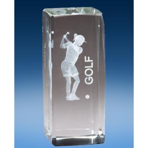 Golf Female Crystal League Award