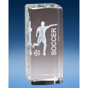Soccer Female Crystal League Award