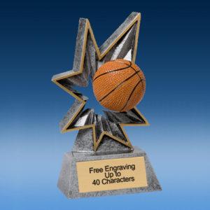 Basketball Sport Bobble Resin