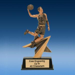 Basketball Male FA Star Resin