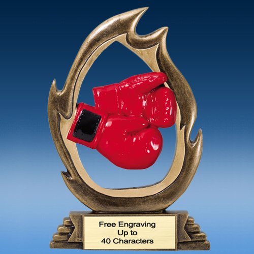 Boxing Flame Resin