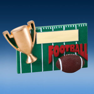 Football Winners Cup Resin