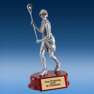 Lacrosse Female Silver/Gold Tone Resin