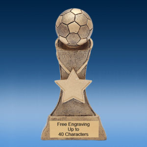Soccer Triumph Resin