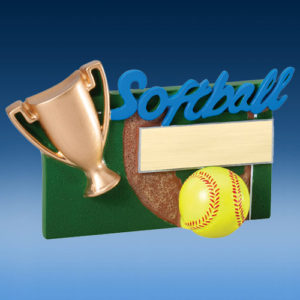 Softball Winners Cup Resin