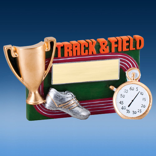 Track & Field Winners Cup Resin