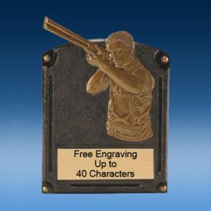 Trapshooter Bronzed Legend Resin