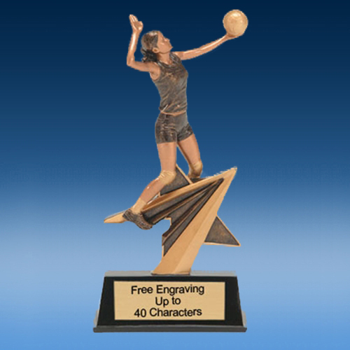 Volleyball FA Star Resin