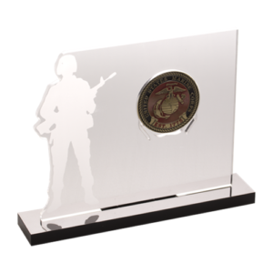 Soldier CoinLock Stand