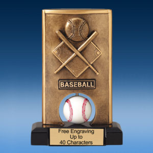 Baseball Sport Spin Resin