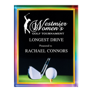 Golf Acrylic Plaque