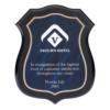 Blue Acrylic Shield Plaques