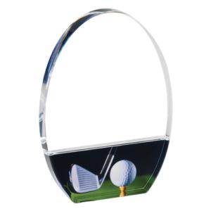Golf Acrylic Award