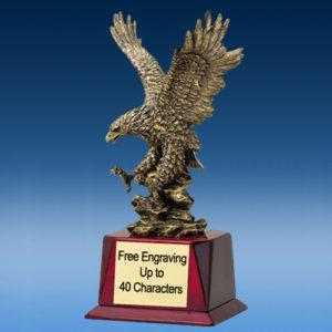 Soaring Gold Eagle