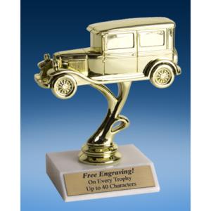 """Antique Car Sport Figure Trophy 6"""""""