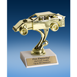 Dirt Track Car Sport Figure Trophy 6""