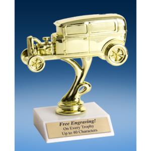 """Hot Rod Open Hood Sport Figure Trophy 6"""""""