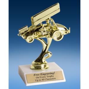 "Sprint Car Sport Figure Trophy 6"""